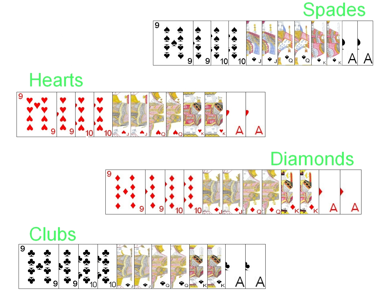 the deck of cards
