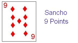 Sancho earns 9 points