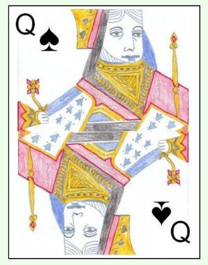 To Shoot the moon in Black Lady, the player must also take in the Queen of Spades